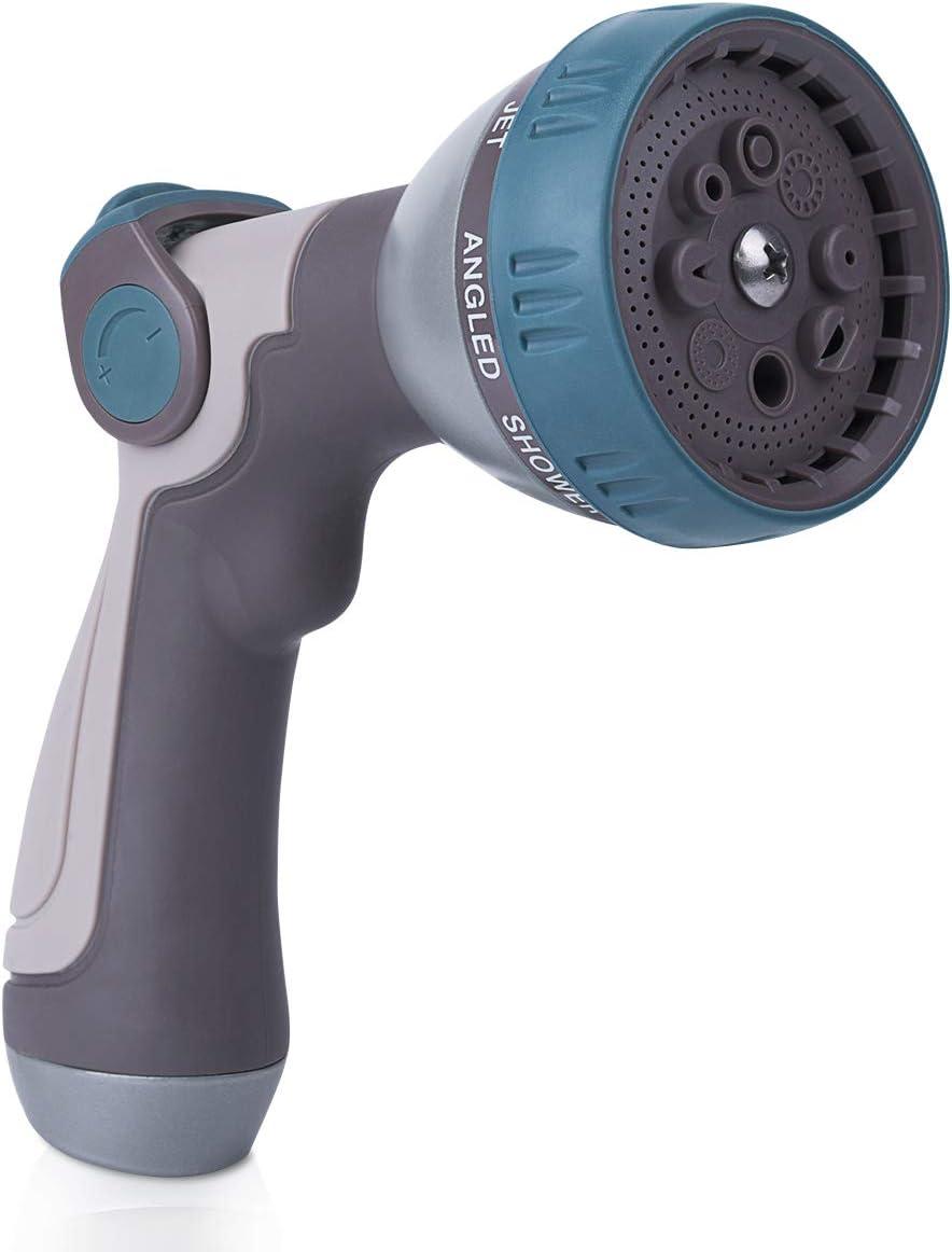 EVILTO Max 58% OFF Garden Hose Nozzle Year-end gift High 8 Pressure Spray Way