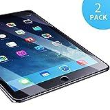 SUERW Panzerglasfolie Kompatibel mit iPad Air 1/ Air 2/ iPad Pro 9.7 - 2 Stück Schutzfolie Kompatibel mit iPad Air 1/ Air 2/ iPad Pro 9.7 [0,33 mm HD Ultra,9H Festigkeitgrad]