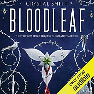 Bloodleaf audiobook cover art