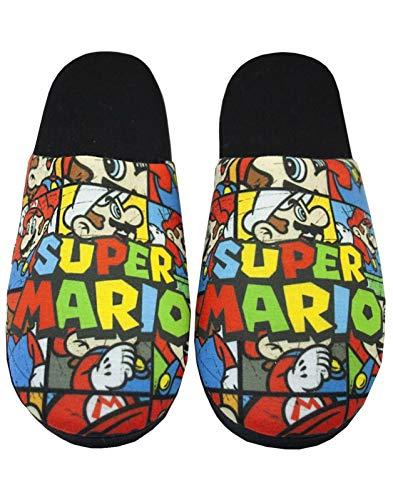 Super Mario Bros Todas Partes de impresión de Recibos-Hombres de Zapatillas