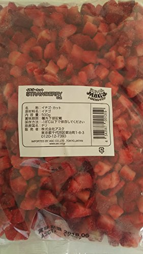 アスク イチゴ ダイスカット 500g×3P 業務用 トロピカルマリア