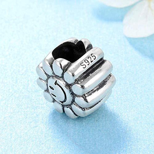 Charm Kralen,Zonnebloem Kralen 925 Sterling Zilveren Vriendschap Fashion Gift Fit Originele Charms Armband Sieraden Maken