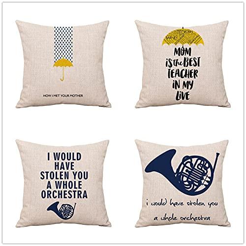 Funda Cojin 40x40cm Juego de 4 Fundas Cojines Cojines Sofa Throw Pillow Case Cojines Decorativos Terciopelo Azul Negro Funda de Almohada para Cojín para Sofá, Cama Hogar, Coche,Interior, Exterior