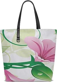Women Flower Material Small Fresh Plant Handle Satchel Handbags Shoulder Bag Tote Purse Messenger Bags