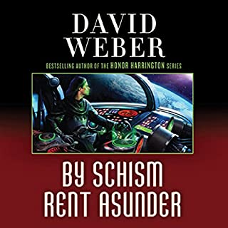 By Schism Rent Asunder     Safehold Series, Book 2              By:                                                                                                                                 David Weber                               Narrated by:                                                                                                                                 Oliver Wyman                      Length: 25 hrs and 19 mins     2,095 ratings     Overall 4.5