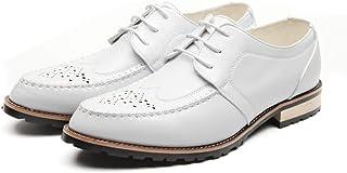 [ブウケ] ビジネスシューズ 革靴 ビジネス メンズ プレーントゥシューズ メンズシューズ おしゃれ ローカット 春夏 男性向け 結婚式 冠婚葬祭 黒