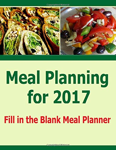 Meal Planning for 2017: Meal Planning just got easier with this fill in the blank menu planner for 2017. Plan meals and grocery shopping with the shopping list included.