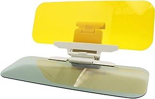 Car Sun Visor - 2-in-1 Anti-Glare TACVISOR Day and Night Car Visor Mirrior Extender, Car Windshield Sun Blocker Car Goggle...