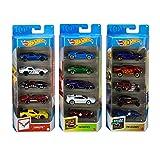Hot Wheels Variety Fun 5 Pack Bundle of 15...