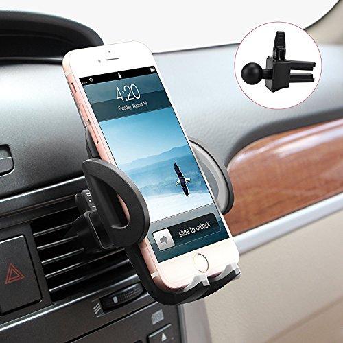 Avolare® Handyhalterung Auto Handyhalter fürs Auto Lüftung Universale Handy KFZ Halterungen Phone Halter [Einzigartiges Design, Hohe Qualität] für Phone, Samsung, Huawei, LG & mehr-Grau