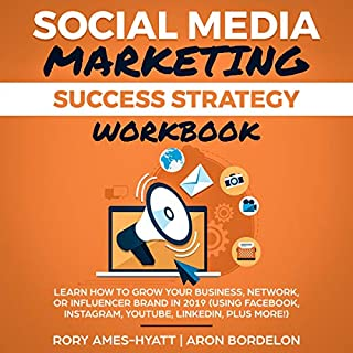 Social Media Marketing Success Strategy Workbook audiobook cover art