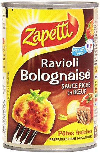Zapetti Ravioli Bolognaise