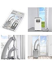 Trotec AirLock 1 000 dörr- och fönstertätning för mobila luftkonditioneringssystem och luftventil torktumlare varmluftsstopp