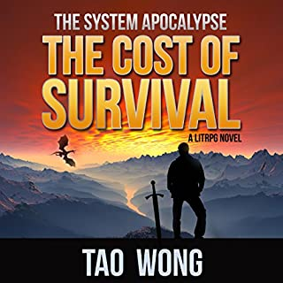 Page de couverture de The Cost of Survival: A LitRPG Apocalypse