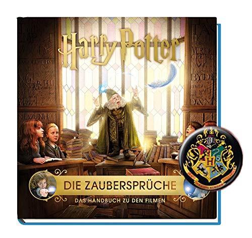 Harry Potter: Die Zaubersprüche - Das Handbuch zu den Filmen + 1 Harry Potter Button