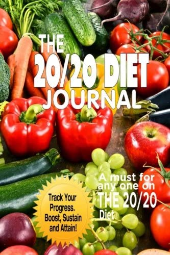 The 20 20 Diet Journal The Ultimate Weight Loss Solution 6 x 9 product image