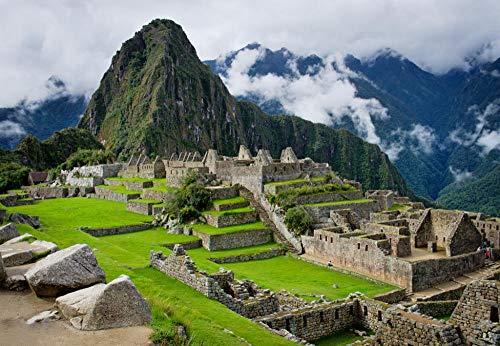 VVNASD Puzzles De 1000 Piezas para Infantiles Machu Picchu, Peru Decoración del Hogar Madera Juguetes Divertidos Juegos Gran Regalo Educativo para Niños