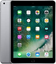 Apple iPad with WiFi + Cellular, 32GB, Space Gray (2017 Model) (Renewed)