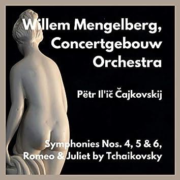 Symphonies Nos. 4, 5 & 6, Romeo & Juliet by Tchaikovsky