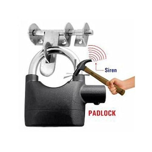 VelVeeta Security Pad Lock with Smart Alarm Motion Sensor