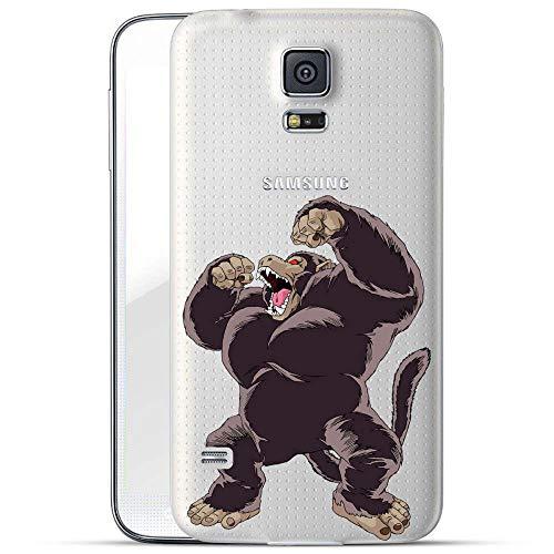 Cover per Samsung Galaxy S5 Mini, motivo: Dragonball