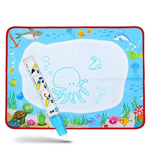 Terrarum Water Tekenen Schilderij Schrijven Doek Mat Board Magic Pen Doodle Kinderen Baby Speelgoed