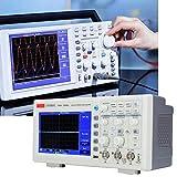 Chenbz Osciloscopio digital de almacenamiento, 2 canales portátil táctil completa Generador registrador del multímetro de 50 MHz de ancho de banda AC100-240V UTD2052CL (Reino Unido)