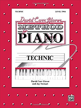 David Carr Glover Method for Piano  Technic  Level 2