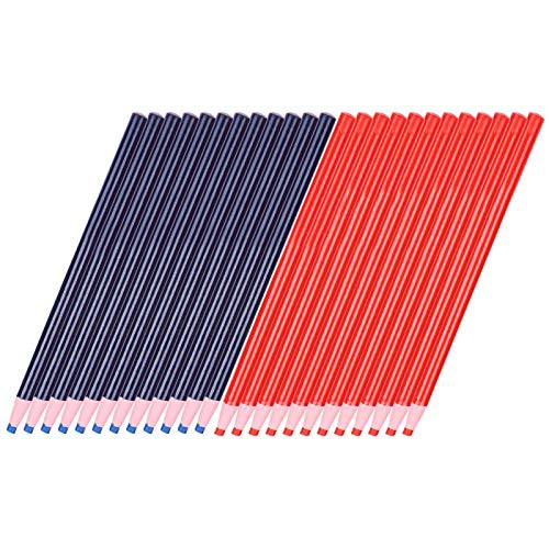 Herramientas de rastreo de marcado de costura, lápiz de tiza respetuoso con el medio ambiente, marca de costura, lápiz de tiza fácil de operar para coser en el hogar