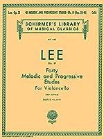40 Melodic And Progressive Etudes, Op. 31: Book 2