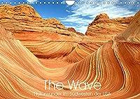 The Wave: Naturwunder im Suedwesten der USA (Wandkalender 2022 DIN A4 quer): Atemberaubende Sandstein Formationen (Monatskalender, 14 Seiten )