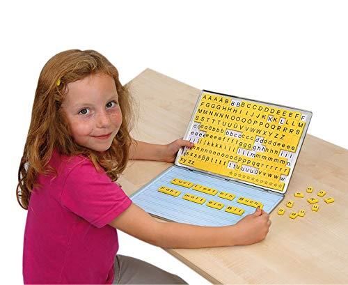 Betzold 42290 - Lese-Magnetbox Sprachförderung 213 Buchstaben+32 Arbeitsblätter