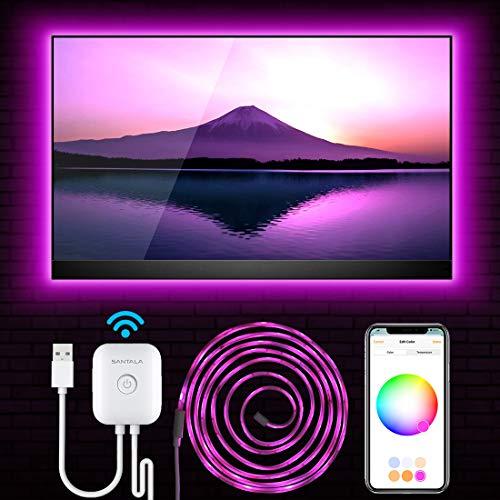 Starter-Kit Alexa /& Google Assistant Hub-frei 2,4 GHz SmartGlow iOS13 + Mehrfarbig einstellbar Dimmbar kompatibel mit HomeKit VOCOlinc Smart WLAN LED-Lichtstreifen