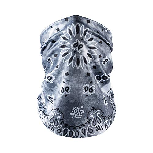 Face Masks Washable,Neck Gaiter Scarf Bandana Face Covering Breathable Balaclava