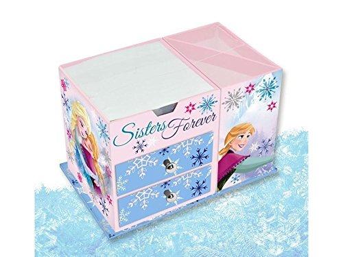 Disney Frozen Boîte à Bijoux Reine des Neiges en Bois, Rose Layette, 9,5 x 21 x 3 cm