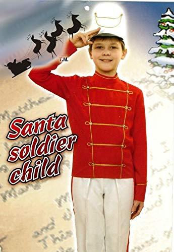 KarnevalsTeufel, Kostüm für Kinder Der Nussknacker, Weihnachtssoldat, Offizier, Märchenfigur, Nuß Knacker, Theateraufführungen (152)