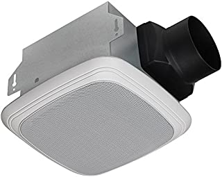 Homewerks Worldwide 7130-04-BT Bluetooth Bath Fan and Speaker in One