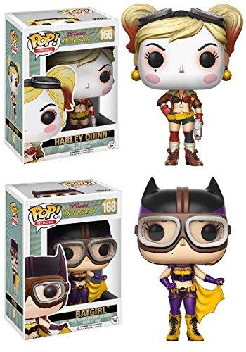 Funko POP! DC Bombshells: Harley Quinn + Batgirl
