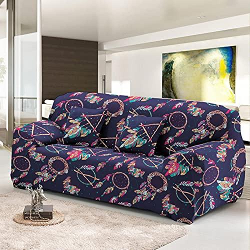 JINGQIAO Fundas elásticas para sofá para sala de estar moderna seccional esquina sofá cubierta muebles protector 1/2/3/4 asiento