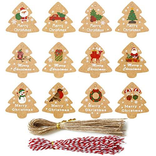 Etiquetas Navidad Nombre Marca Eastor
