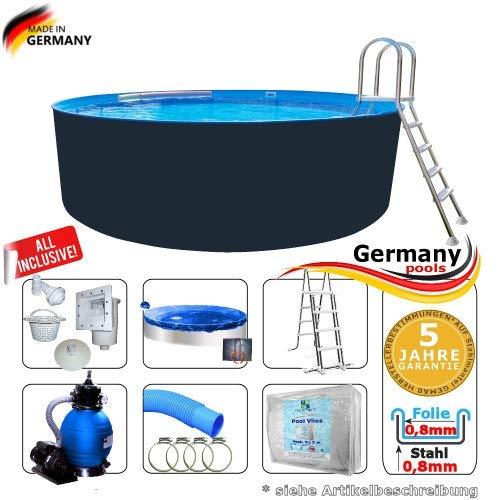 Germany-Pools -  Rundpool 400 x 125