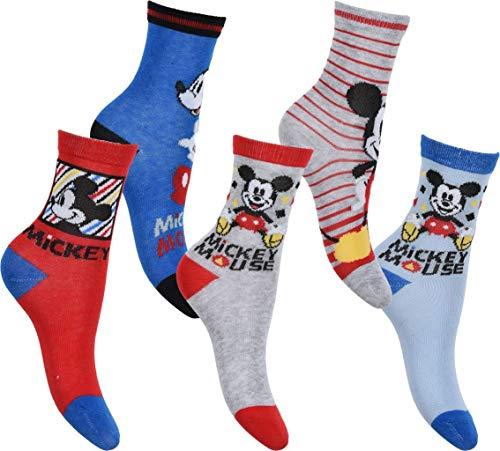 Disney Micky Maus 5er Pack Socken 31-34