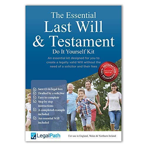 Last Will and Testament Kit 2020 UK   The Essential Pack   Simple to...