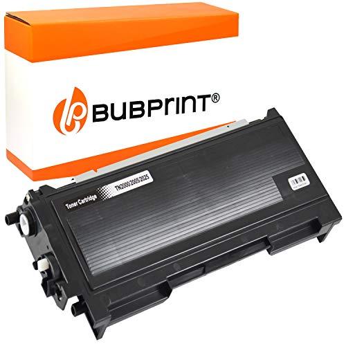 Bubprint Toner kompatibel für Brother TN-2005 TN 2005 TN2005 für HL-2035 HL-2035R HL-2037 3500 Seiten Schwarz