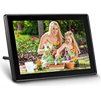 Ueme WiFi Digital Picture Frame with Touch Screen (Black)