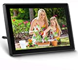 UEME WiFi Digital Picture Frame, Send Photos or Small Videos from Anywhere, 10.1 Inch HD IPS Display with Touch Screen