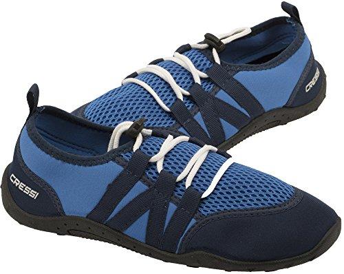 Cressi Unisex– Erwachsene Elba Pool Shoes Badeschuhe für Meer, Strand, Boot und Wassersport, Blau, 46 EU