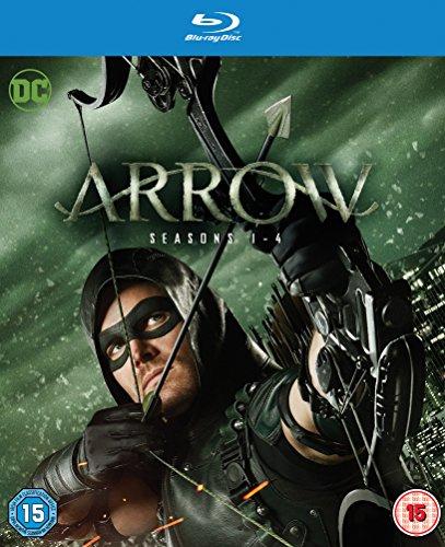 Arrow - Season 1-4 (2 Blu-Ray) [Edizione: Regno Unito] [Reino Unido] [Blu-ray]