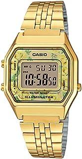 Casio Women's Dial Stainless Steel Band Watch - LA680WGA-9CDF