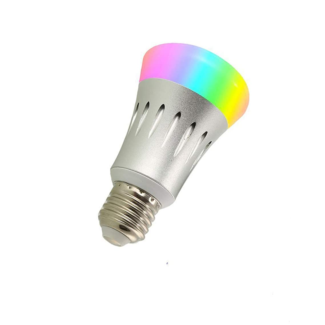 Smart WiFi LED Light Bulb - 60W Equivalent Multi-Color LED Lightbulb, Change Color, Dime The Light, Set Timer and Schedule, Turn On/Off Remotely All, Voice Control Using Amazon Alexa or Google Home